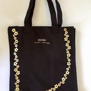 MARC BY MARC JACOBS DAISY BLACK SHOPPERS/TOTE BAG